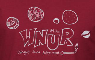 WNUR 2014 T-Shirt design